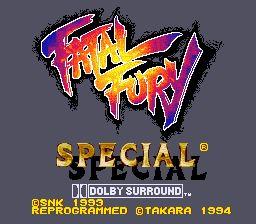 Fatal Fury Special - Fiche de jeu Mini_264790881