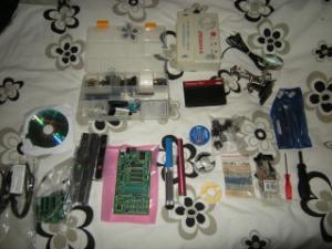 (Vds)Kit complet pour fabriquer vos jeux Snes,Master system,Megadrive Mini_265431DSCN3593