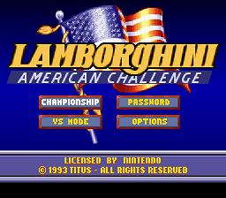Lamborghini : American Challenge - Fiche de jeu Mini_272637911