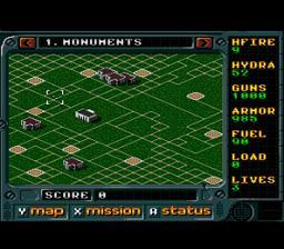 Jungle Strike : The Sequel to Desert Strike - Fiche de jeu Mini_281303713
