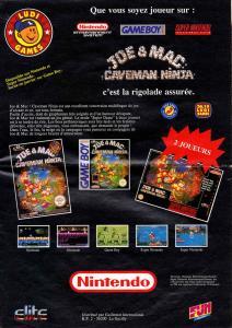 Joe & Mac : Caveman Ninja - Fiche de jeu Mini_352010JoeMac