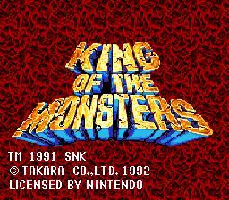King of the Monsters - Fiche de jeu Mini_369322221