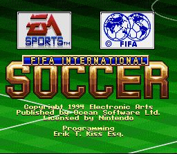FIFA International Soccer - Fiche de jeu Mini_374079401