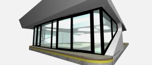 """Challenge thème : """"modélisation et rendu d'une maison atypique"""" - Silk37 & SB - ArchiCAD 17 - 3DS/V-Ray - Photoshop Mini_495212OLSHouseFaadecuisine"""