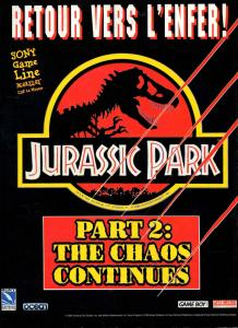 Jurassic Park Part 2 : The Chaos Continues - Fiche de jeu Mini_502232JurassicParkPart2TheChaosContinues