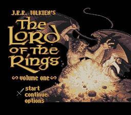 J.R.R. Tolkien's The Lord of the Rings : Volume 1 - Fiche de jeu Mini_557119121