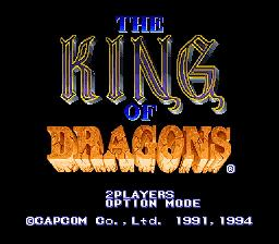 King of Dragons - Fiche de jeu Mini_601231261