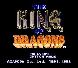 King of Dragons - Fiche de jeu Mini_601231261