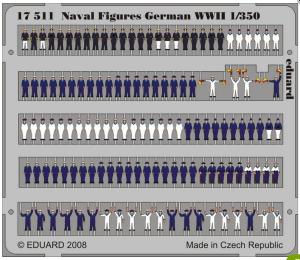 Figurines matelots allemands 1/200 et 1/350 Mini_611918eduard