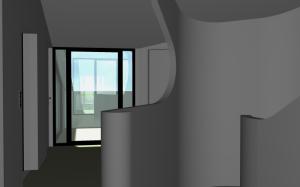 """Challenge thème : """"modélisation et rendu d'une maison atypique"""" - Silk37 & SB - ArchiCAD 17 - 3DS/V-Ray - Photoshop Mini_614793OLSHouseEtagevue2"""