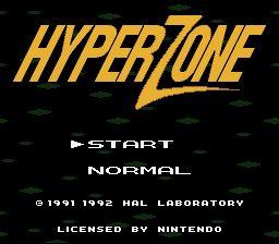 HyperZone - Fiche de jeu Mini_650082721