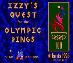 Izzy's Quest for the Olympic Rings - Fiche de jeu Mini_674849401