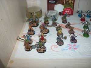 Essai peinture: World of Warcraft - The Boardgame Mini_7167471000465