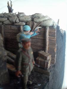 Une TRANCHEE à CRAONNE en 1917_1/72e_ Grognard Mini_719984Photo0552