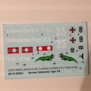 Uboot Type IIB  plus PE Mini_735984IMG0223
