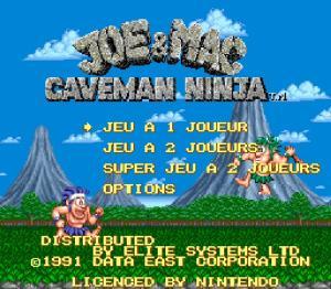 Joe & Mac : Caveman Ninja - Fiche de jeu Mini_778327211