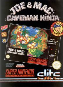 Joe & Mac : Caveman Ninja - Fiche de jeu Mini_822880JoeMacpub2