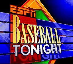 ESPN Baseball Tonight - Fiche de jeu Mini_852266321