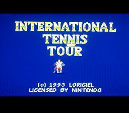International Tennis Tour - Fiche de jeu Mini_884357110