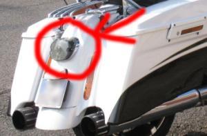 Feux arrière noir ou fumé pour Road Glide CVO Mini_886502img2312