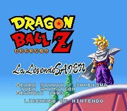 Dragon Ball Z : La Légende Saien - Fiche de jeu Mini_897723721