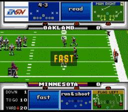 John Madden Football '93 - Fiche de jeu Mini_912744632