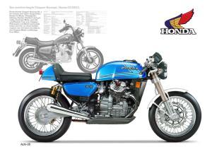 XJ 400 en Cafe Racer et/ou Brat Style Mini_914146500CXCF