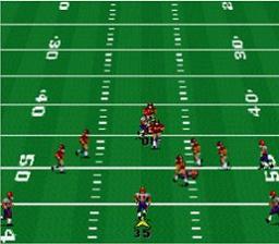 John Madden Football '93 - Fiche de jeu Mini_914489353