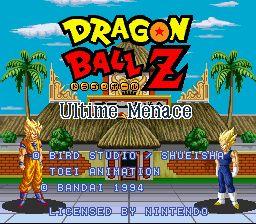 Dragon Ball Z : Ultime Menace - Fiche de jeu Mini_924286321