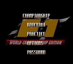 F1 World Championship Edition - Fiche de jeu Mini_928915391
