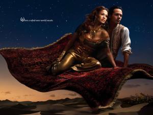 Les stars posent pour Annie Leibovitz pour les campagnes marketing Disney - Page 4 Mini_947050aladinetjasmine