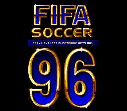 FIFA Soccer 96 - Fiche de jeu Mini_981643291