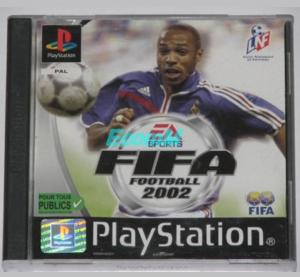 "Jeux ""multi-version"" black label PS1 Mini_987663FIFA20021"
