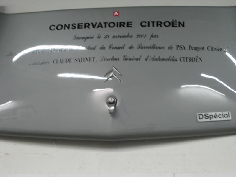 Visite au Conservatoire CITROËN en 2010 113706IMG0096