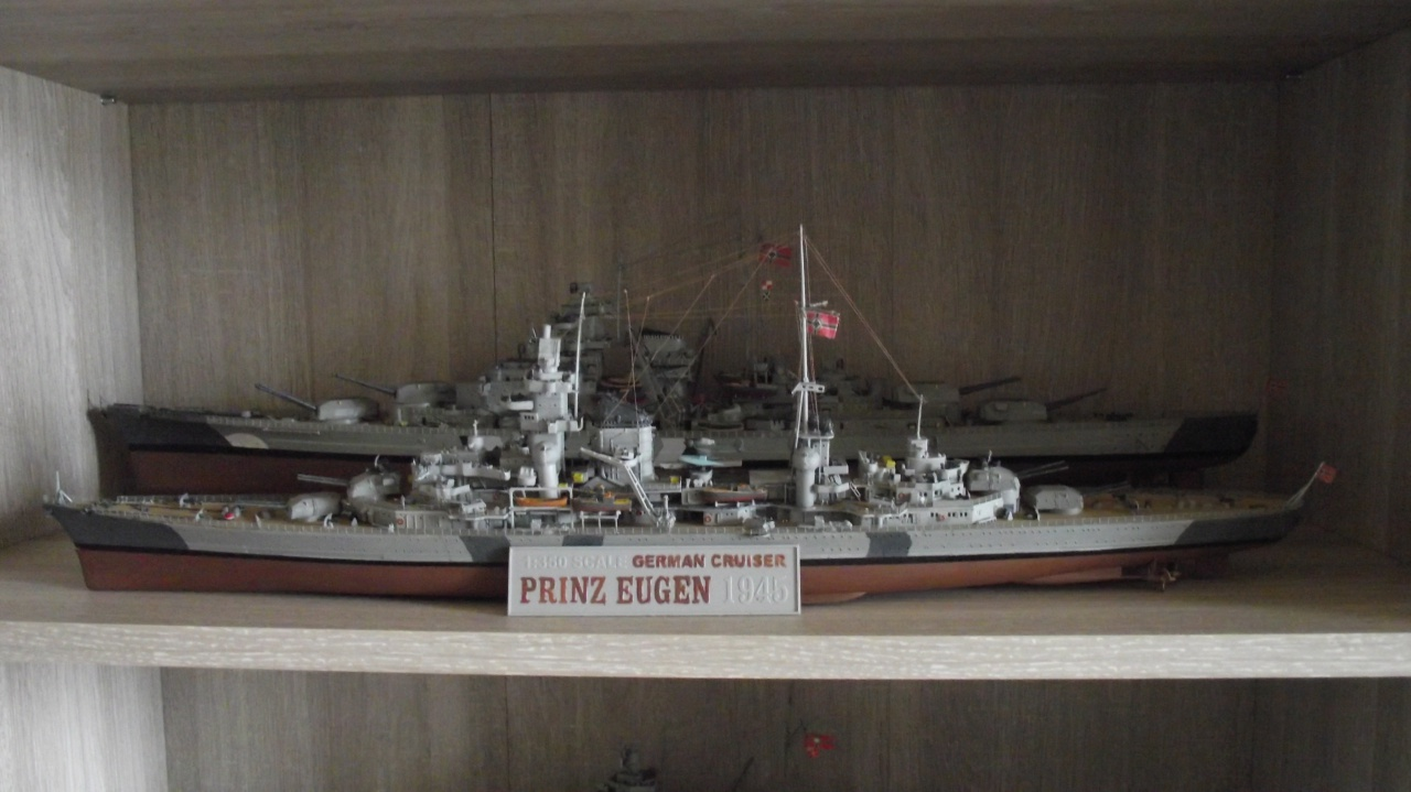 Prinz Eugen Trumpeter au 1x350 avec PE 114025PrinzEugen1x35071