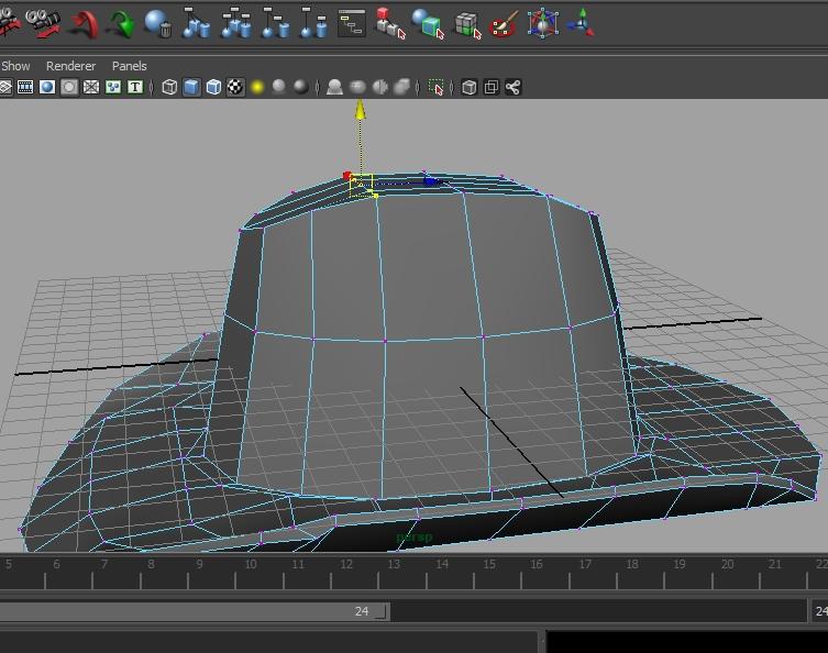 [Tuto] Modélisation d'un chapeau avec Maya 115908Photo10