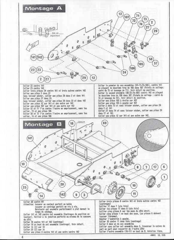 AMX 13 canon de 155 1/35ème Réf L 782 116268AMX13155782005Heller135