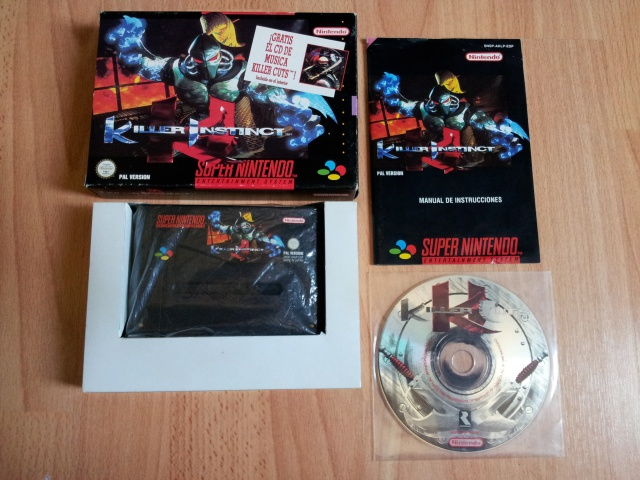 Prupru's Collection ! 100% Super Nintendo et 200% Super Comboy !! - Page 2 116831KillerInstinctESP