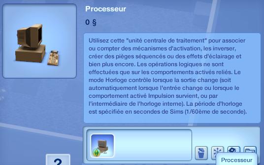 """[Débutant] Add-on """"Destination Aventure"""": Programmer quelques pièges pour une chasse aux trésors 117621Processeur"""