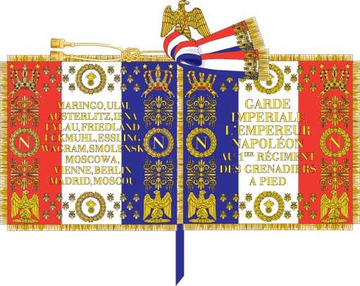 7ème régiment d infanterie légère - 1812 - Petite surprise ! 117697drapo11