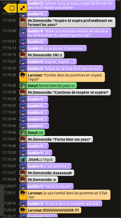 [Saabbrrii] Rapports d'actions RP - Infirmier 118422rpdemon5