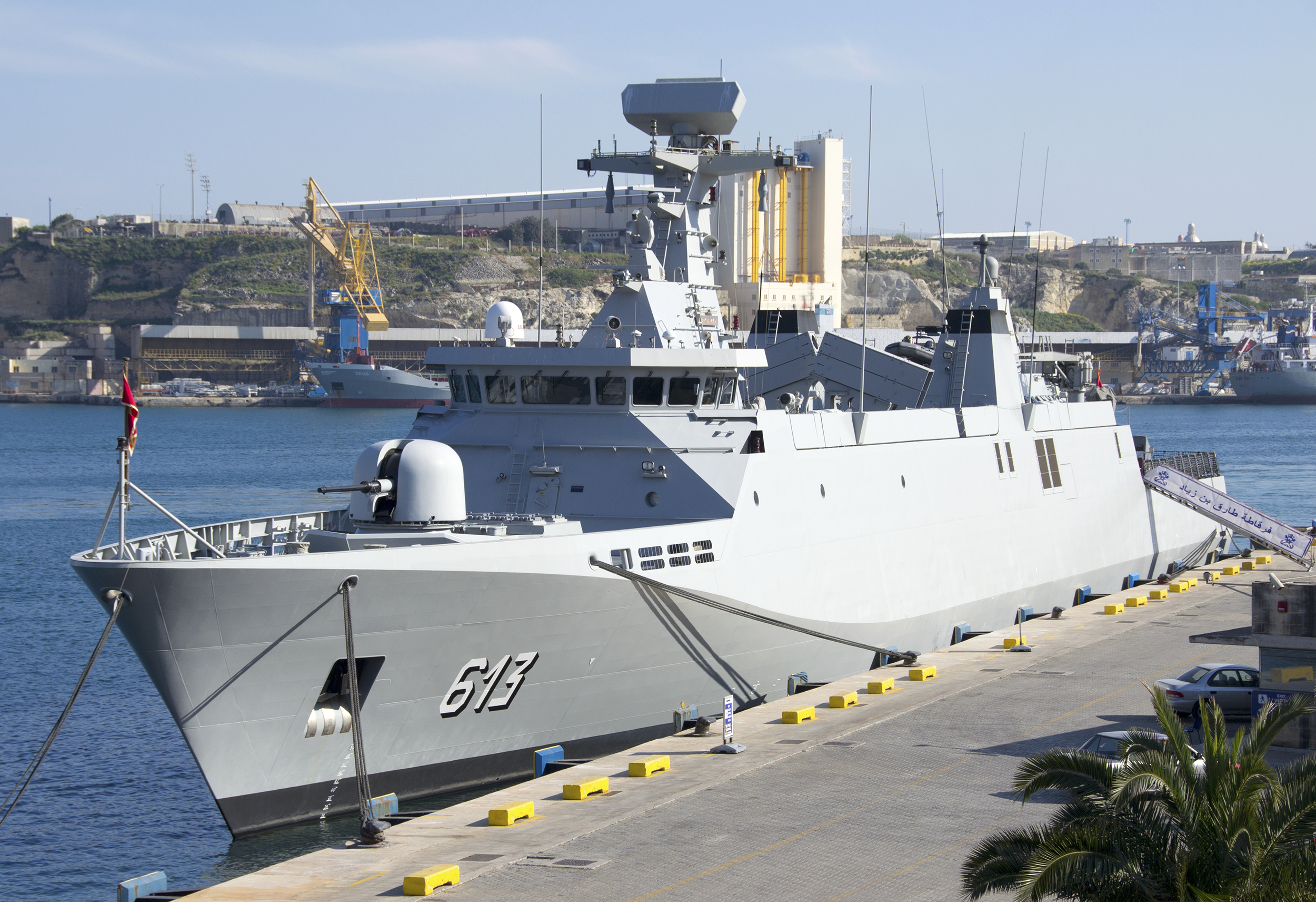 Royal Moroccan Navy Sigma class frigates / Frégates marocaines multimissions Sigma - Page 20 118711171990538663774f10c78o