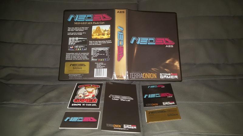 Kit pour NeoSD AES 118964150352830820170823232421
