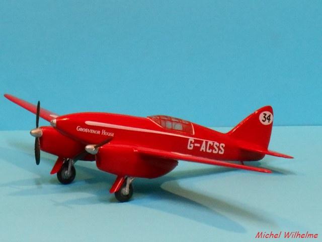 DE HAVILLAND D H88 kit Airfix 1959 119283DSCN9421Copier