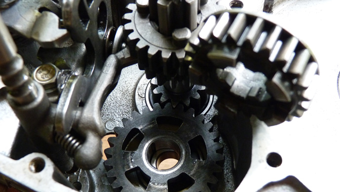 remontage d'un bas moteur d'une 125 TS 119309P1060187