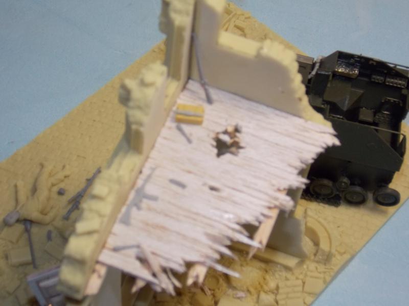 SU 76 M Tamiya et ruine Verlinden 1/35 - Page 2 120593DSCN4322