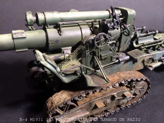 un B-4 M1931 203 mn (le marteau de Staline trumpeter 1/35 121359B41005