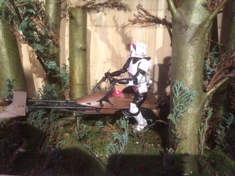 SCOUT TROOPER et SPEEDER BIKE 123027IMG0358