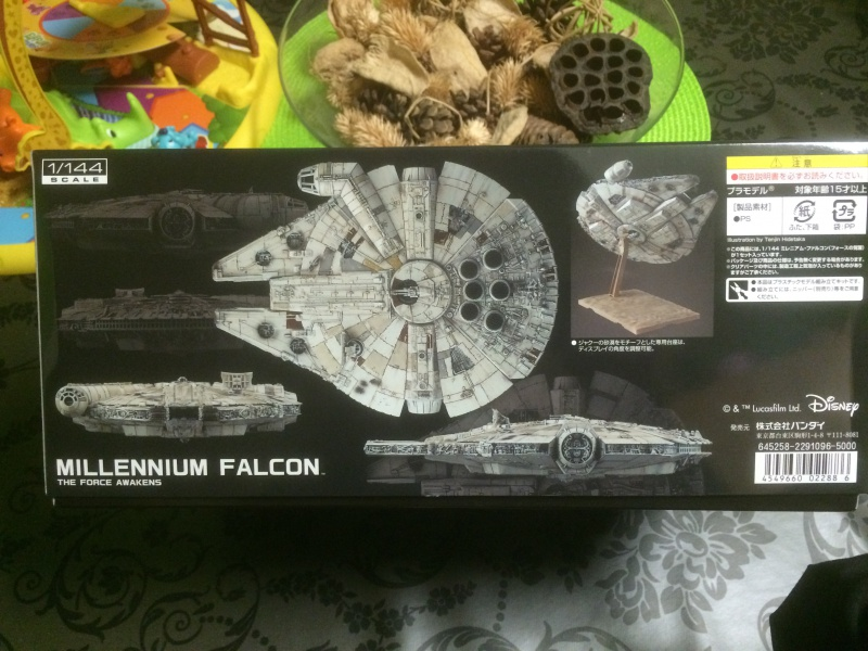 millenium falcon de bandai 123095IMG0525