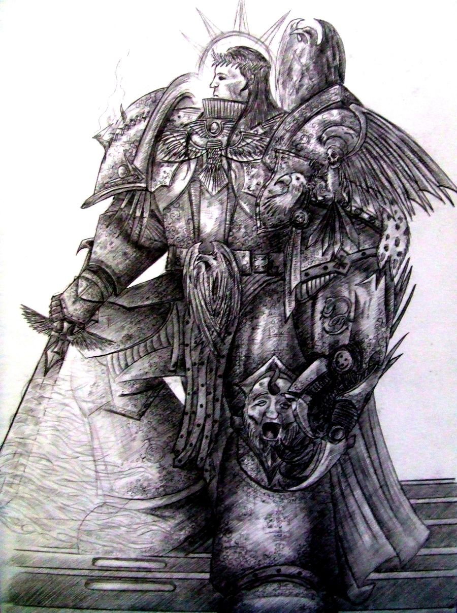 [Fluff] L'Empereur-Dieu de l'Humanité - Page 3 123442TheEmperorofMankindbyLinfordHMann